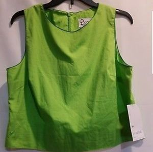 LILLY PULITZER COCKTAIL TOP POPSICLE GREEN